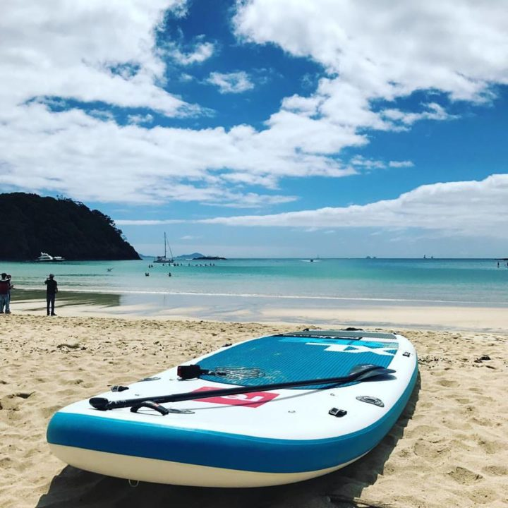 Paddleboard on Matapouri Beach in Tutukaka