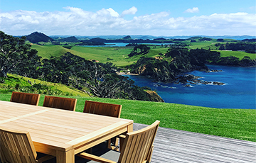 Ocean views vacation rental Whangarei
