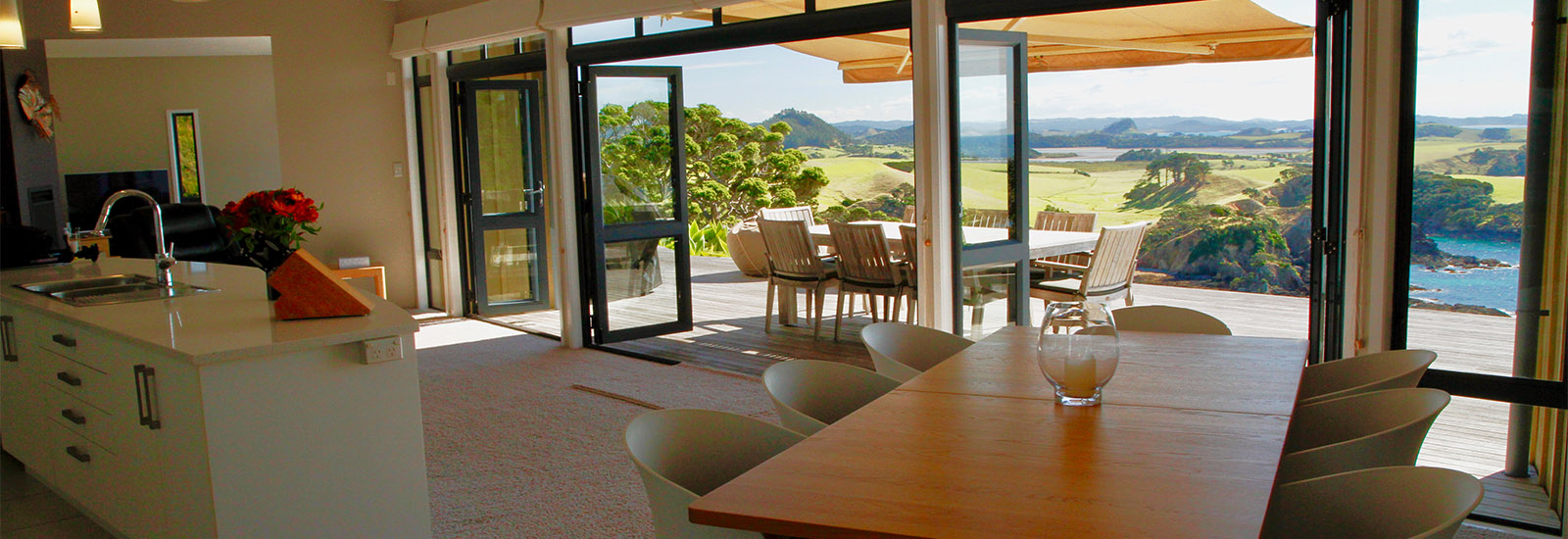 Coastal luxury holiday home Northland