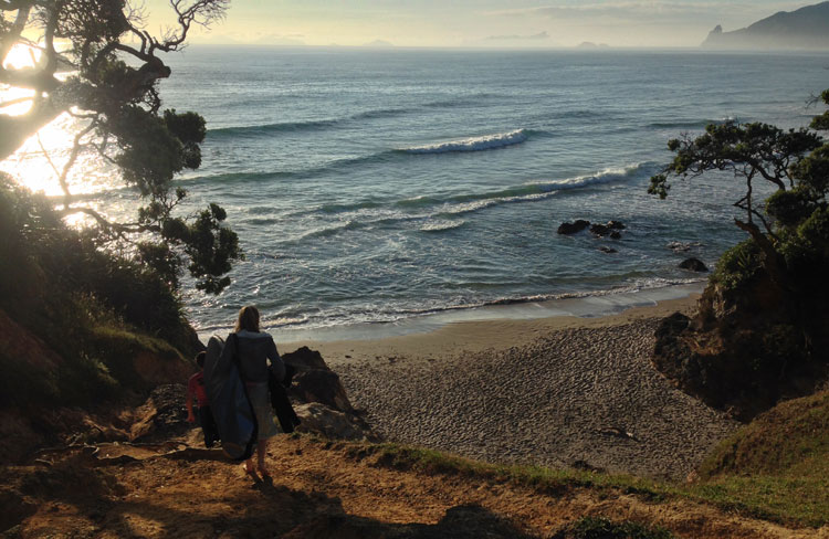 Early start at Kauri Mountain Beach, Whangarei Heads