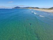 Surfing Kauri Mountain Beach