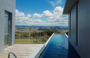 Accommodation Whangarei Heads with Pool