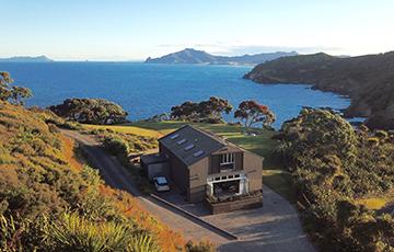 Te Whara accommodation Whangarei Heads