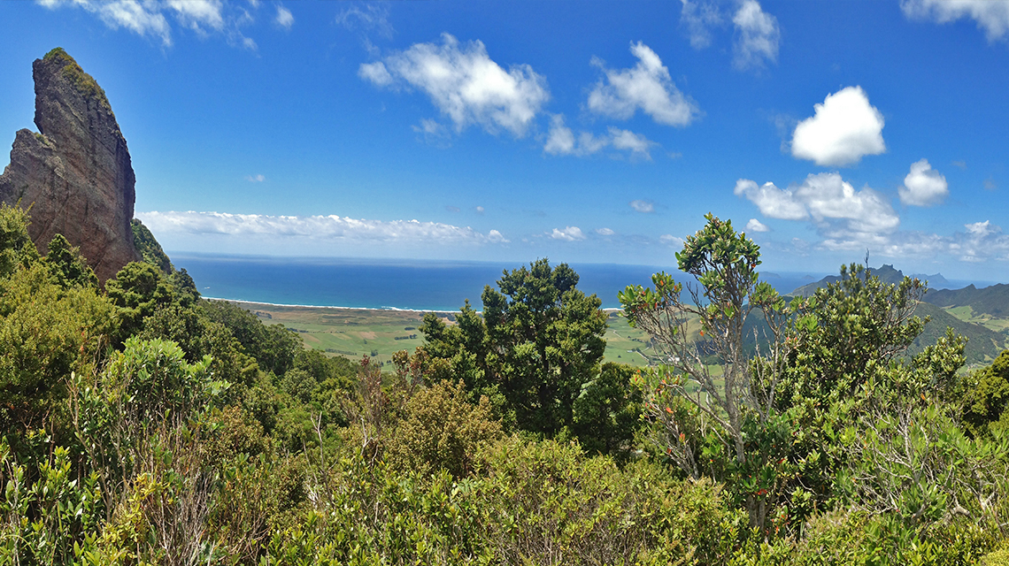 Mount Manaia views