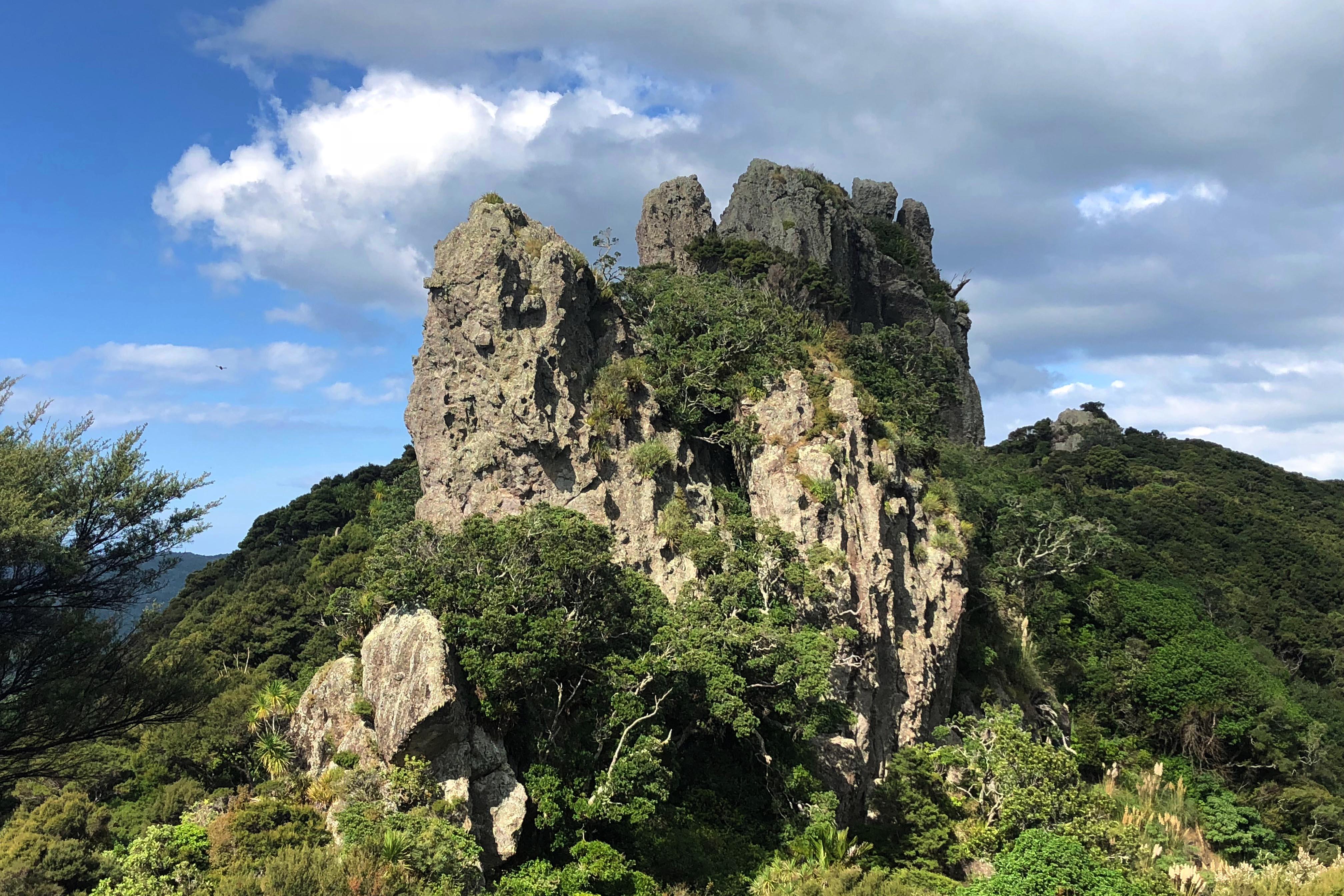 Volcanic peaks Mount Aubrey Whangarei