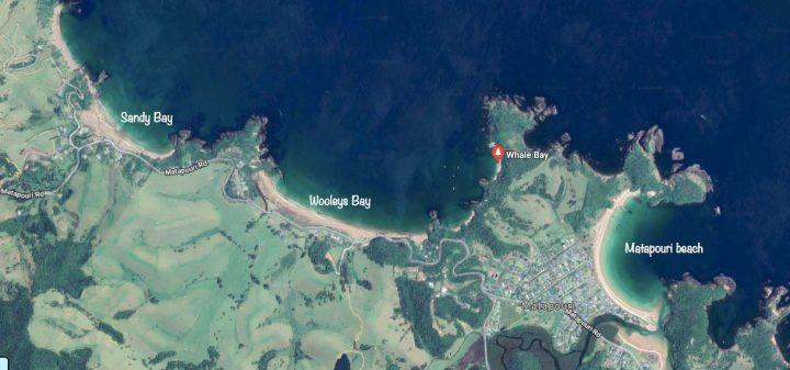 map of all Tutukaka beaches